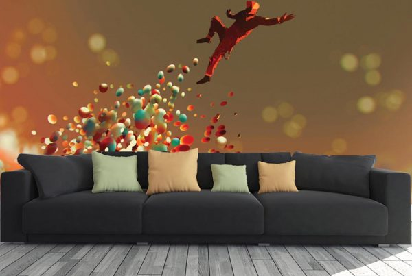 3D Animated Man Jumping