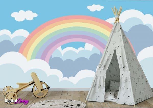 Rainbow 1 - Digitalliving.ie - wall murals