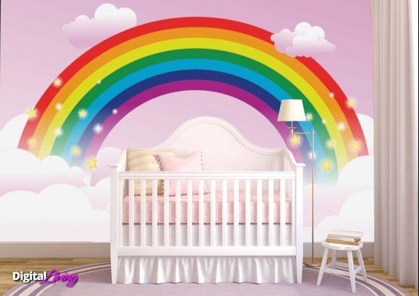 Rainbow 2 - Digitalliving.ie - wall murals