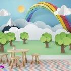 Rainbow 3 - Digitalliving.ie - wall murals
