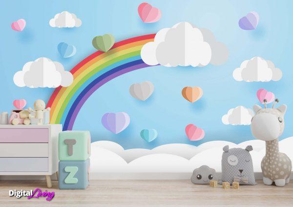 Rainbow 4 - Digitalliving.ie - wall murals