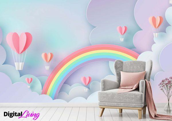 Rainbow 5 - Digitalliving.ie - wall murals