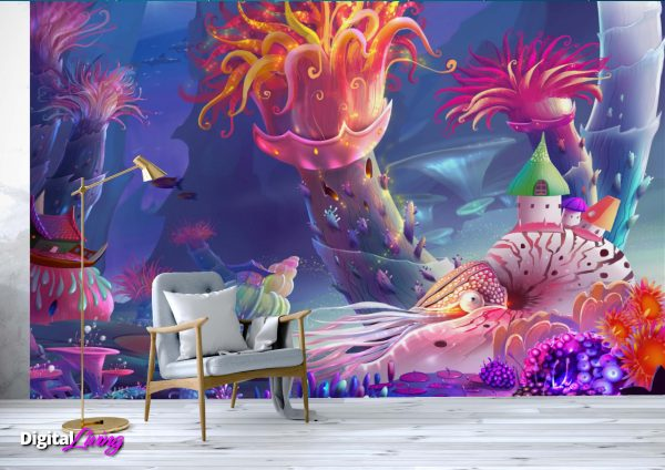 Under The Sea 3- digitalliving.ie - wall murals