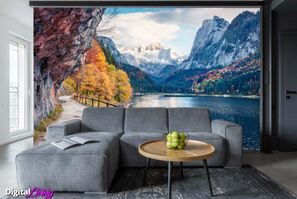 Scenic Views Swiss Alps